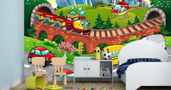 Fototapety do pokoju dziecka